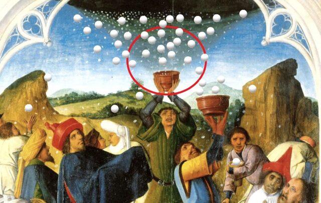 В свещената книга манната небесна е описана като основна храна на израелския народ, воден от Мойсей